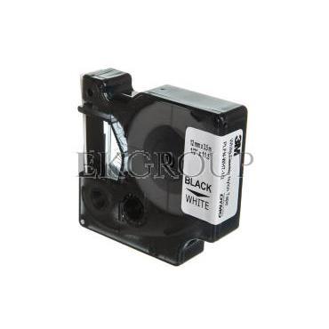 Taśma do drukarek nylonowa elastyczna 12mm x 3,5mm biała S0718100 18488-185430