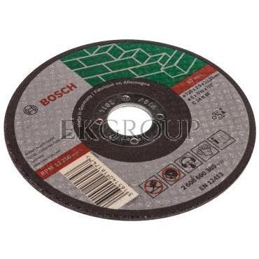 Tarcza tnąca prosta 125mm rozcinanie FI125mm 2608600385-187997