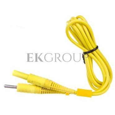 Przewód pomiarowy 1,2m żółty /wtyki bananowe/ (MZC-2) WAPRZ1X2YECC-186598