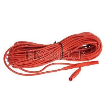 Przewód pomiarowy 20m czerwony /wtyki bananowe/ WAPRZ020REBB-186612