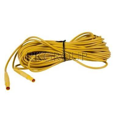 Przewód pomiarowy 20m żółty /wtyki bananowe/ WAPRZ020YEBB-186587