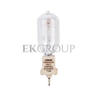 Lampa metalohalogenkowa 70W G12 230V 3000K przeźroczysta HQI-T WDL 4008321974341-185066