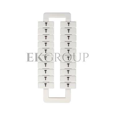 Oznacznik do złączek (EURO) 2,5-70mm2 /T/ biały 43192-192666
