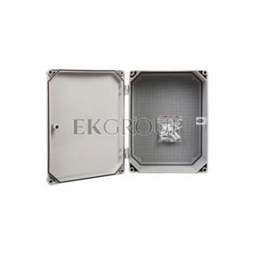 Obudowa 400x300x166mm IP65 z płytą montażową UNIbox Uni-1 43.1-196868