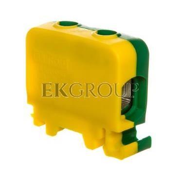 Złączka szynowa 1-przewodowa 50mm2 żółto-zielona ZGG1x1,5-50z-g 84285009-195305