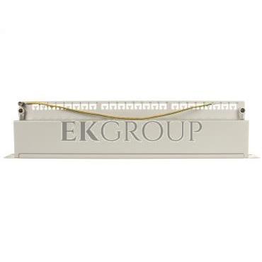 Patch panel kompletny 19 cali 24x RJ45 S/FTP kat. 5e 1U szary (RAL 7035) DN-91524S-191020