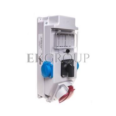 Rozdzielnica 1x32A 5P 2x250V okienko wyłącznik 0-1 IP54 ROS 5/X-10/0-1-197315