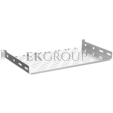 Półka 19 cali 1U głębokość 250mm RAL 7035 19-0046S-191099