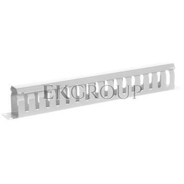 Organizator kablowy 19 cali 1U W/40xG/70 szary DN-97616-191036