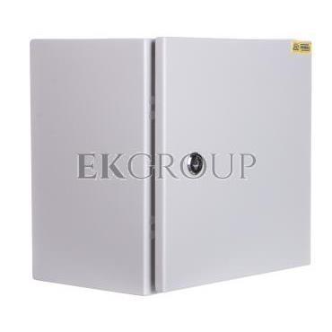 Obudowa metalowa 300x300x220mm IP65 z płytą montażową RN 303021 (RAL 7035) R30RS-01011100300-196805