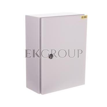 Obudowa metalowa 400x300x160mm IP65 z płytą montażową RN 304015 (RAL 7035) R30RS-01011100600-196807