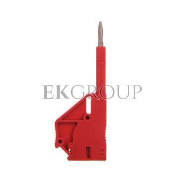 Wtyczka probiercza 5,2mm czerwona PS-5 3030983-193077