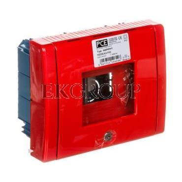 Rozdzielnica przeciwpożarowa podtynkowa pusta 5 modułów IP55 95PPPT-196401