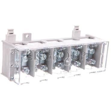 Odgałęźnik instalacyjny 5-segmentowy (zacisk: 5x35mm2 - 5x4x16mm2) na TS 35, LZ 5*35/16 wyk.21 84027002-197104