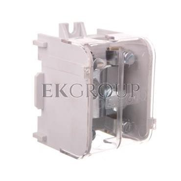 Odgałęźnik instalacyjny 1-segmentowy (zacisk: 1x70mm2 - 4x16mm2)/ z pokrywą, LZ 1*70/16P 84047009-197106