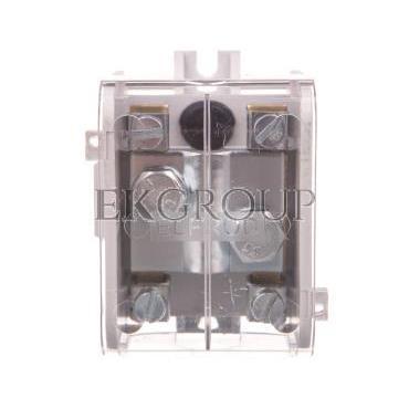 Odgałęźnik instalacyjny 1-segmentowy (zacisk: 1x70mm2 - 4x16mm2)/ z pokrywą, LZ 1*70/16P 84047009-197107