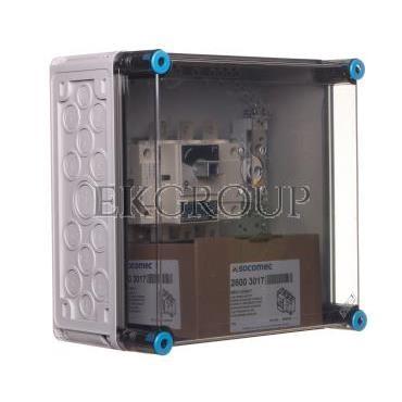 Skrzynka rozłącznikowa hermetyczna 160A z zaciskami PE N IP65 Mi 87256 HPL00142-196839