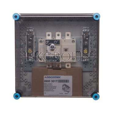 Skrzynka rozłącznikowa hermetyczna 160A z zaciskami PE N IP65 Mi 87256 HPL00142-196840