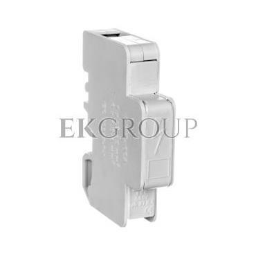 Blok rozdzielczy modułowy 1-biegunowy 125A we: 1x16-35mm2 wy: 6x1,5-6mm2 szary LBR60A 84326002-195890