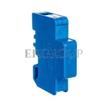 Blok rozdzielczy modułowy 1-biegunowy 125A we: 1x16-35mm2 wy: 6x1,5-6mm2 niebieski LBR60A 84326003-195891
