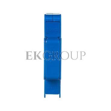 Blok rozdzielczy modułowy 1-biegunowy 125A we: 1x16-35mm2 wy: 6x1,5-6mm2 niebieski LBR60A 84326003-195892