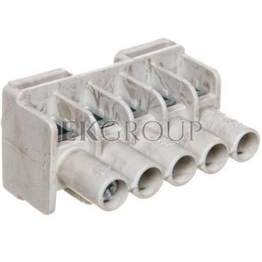 Listwa zaciskowa do puszek 5-torowa 1,5-6 mm2 Cu szara DKL 04 2600055-197096