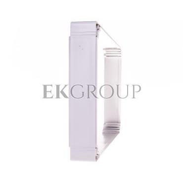Nadstawka do obudów termoplastycznych 300x400x55mm śruby szara OPCP304006E-196128