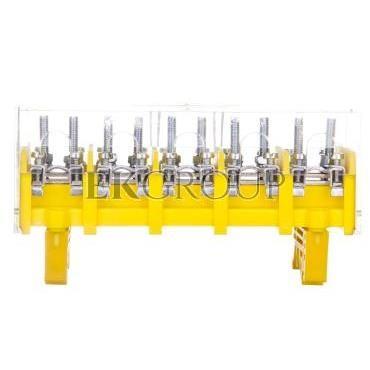 Odgałęźnik instalacyjny 5P (zacisk: 5x2x25mm2 - 5x4x10mm2) LZ5x25/10 wyk.22P 84095004-197080