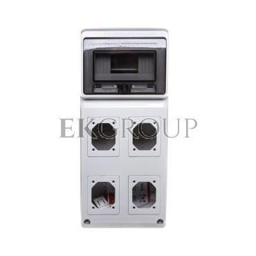 Rozdzielnica niewyposażona 506x230x150mm 4-otwory 8-modułów M-BOX IP65 1518083-197434