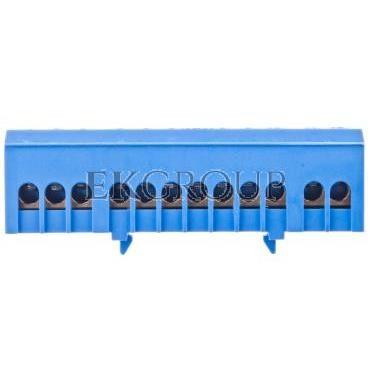 Zacisk ochronny izolowany na szynę MZOI-N R33RA-01010104321-196337