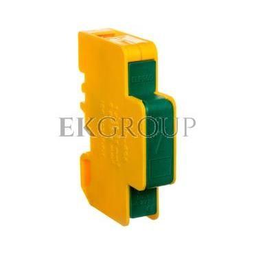 Blok rozdzielczy modułowy 1-biegunowy 125A we: 1x16-35mm2 wy: 6x1,5-6mm2 żółto-zielony LBR60A 84326009-195964