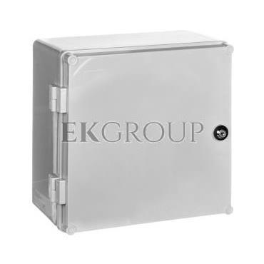 Obudowa z tworzywa 300x300x160mm z płytą montażową UNIbox 43.0-196906
