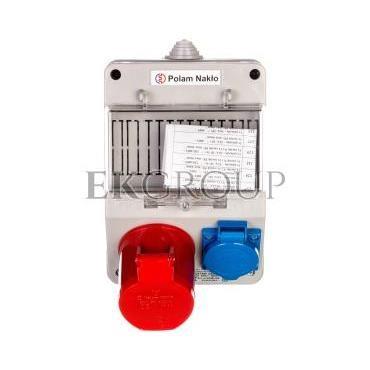 Zestaw zasilający 32A/400V 4P   10/16A 250V   płytka odgałęźna 5x6mm2  6165-130-199998
