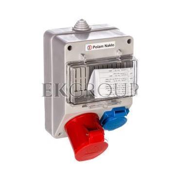 Zestaw zasilający 32A/400V 4P   10/16A 250V   płytka odgałęźna 5x6mm2  6165-130-199999