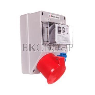 Zestaw zasilający 32A/400V 5P   10/16A 250V   płytka odgałęźna 5x6mm2 6265-130-200002