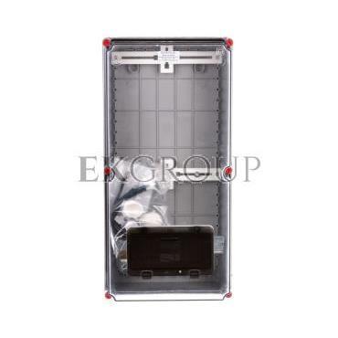 Zestaw zabezpieczeniowo-pomiarowy ZP-50 przeźroczysty okienko 8-mod 9703-000-196855