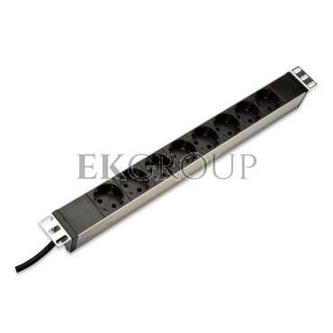 Listwa zasilająca do szaf rack (PDU) 19cali 8x Schuko DN-95401-191022