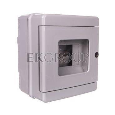 Przycisk ppoż. - obudowa 1x4 150x170x100 szary IP65 EC64104-199645