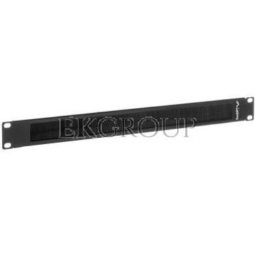 Panel szczotkowy do szafy 19'' 1U szary LANBERG AK-1101-S-191121