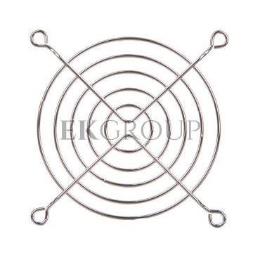 Metalowa kratka ochronna dla wentylatorów 92x92mm RAL7035 LZ33-90-199587