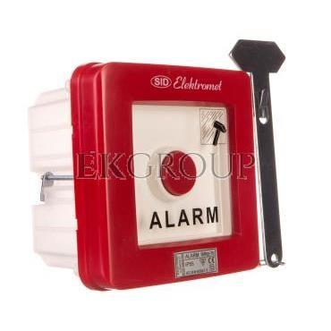 Wyłącznik alarmowy 1Z 1R 12A /ALARM TECHNICZNY/ IP55 WAp-1s 921551-199692