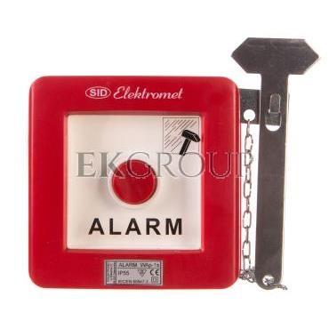 Wyłącznik alarmowy 1Z 1R 12A /ALARM TECHNICZNY/ IP55 WAp-1s 921551-199693
