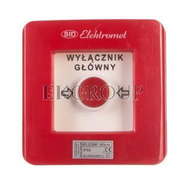 Ręczny ostrzegacz pożarowy 2R 12A IP65 WP-3s ROP A 921404-199680