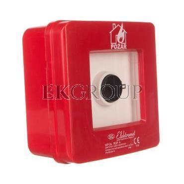 Ręczny ostrzegacz pożarowy 2R 12A IP65 WP-3s ROP A 921404-199681