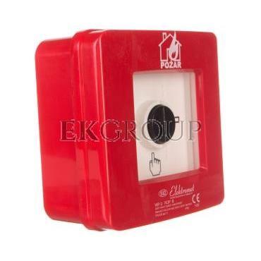 Ręczny ostrzegacz pożarowy 2R 12A IP65 WP-3 ROP B 921410-199696