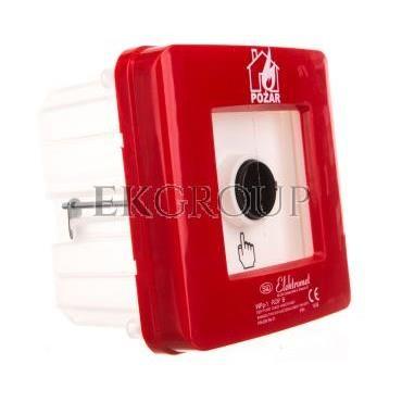 Ręczny ostrzegacz pożarowy 2Z 12A IP65 WPp-1 ROP B 921556-199704