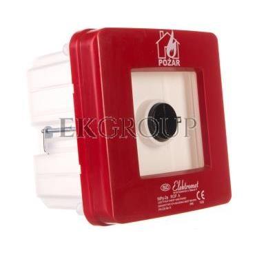 Ręczny ostrzegacz pożarowy 2Z 12A NO-NO IP65 WPp-2s ROP A 921552-199686