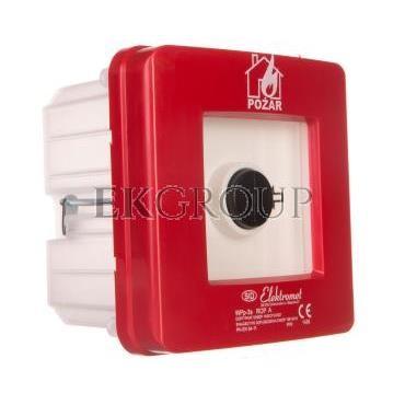 Ręczny ostrzegacz pożarowy 2R 12A IP65 WPp-3s ROP A 921554-199690