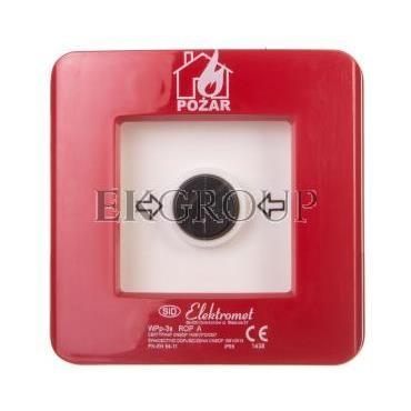 Ręczny ostrzegacz pożarowy 2R 12A IP65 WPp-3s ROP A 921554-199691