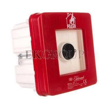 Ręczny ostrzegacz pożarowy 2Z 2R 12A IP65 WPp-4s ROP A 921562-199694